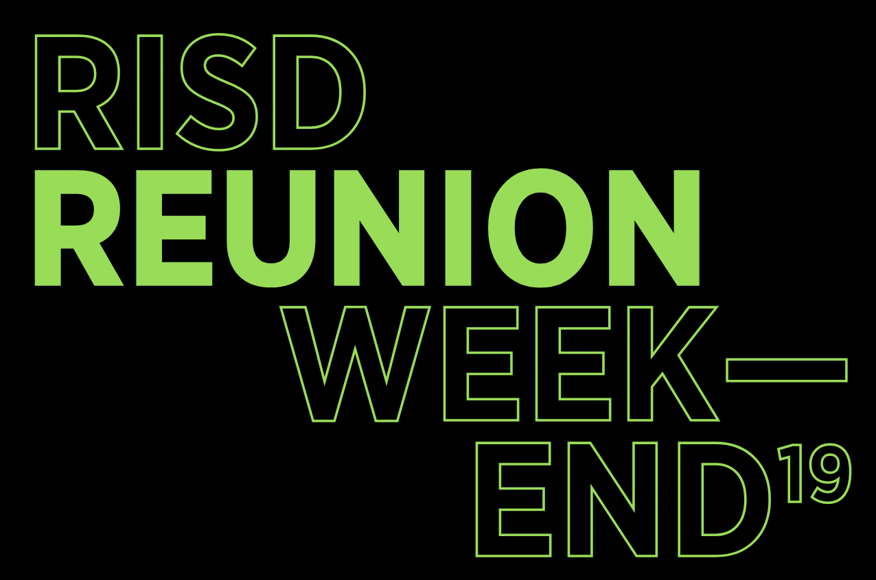 Logo for RISD Weekend