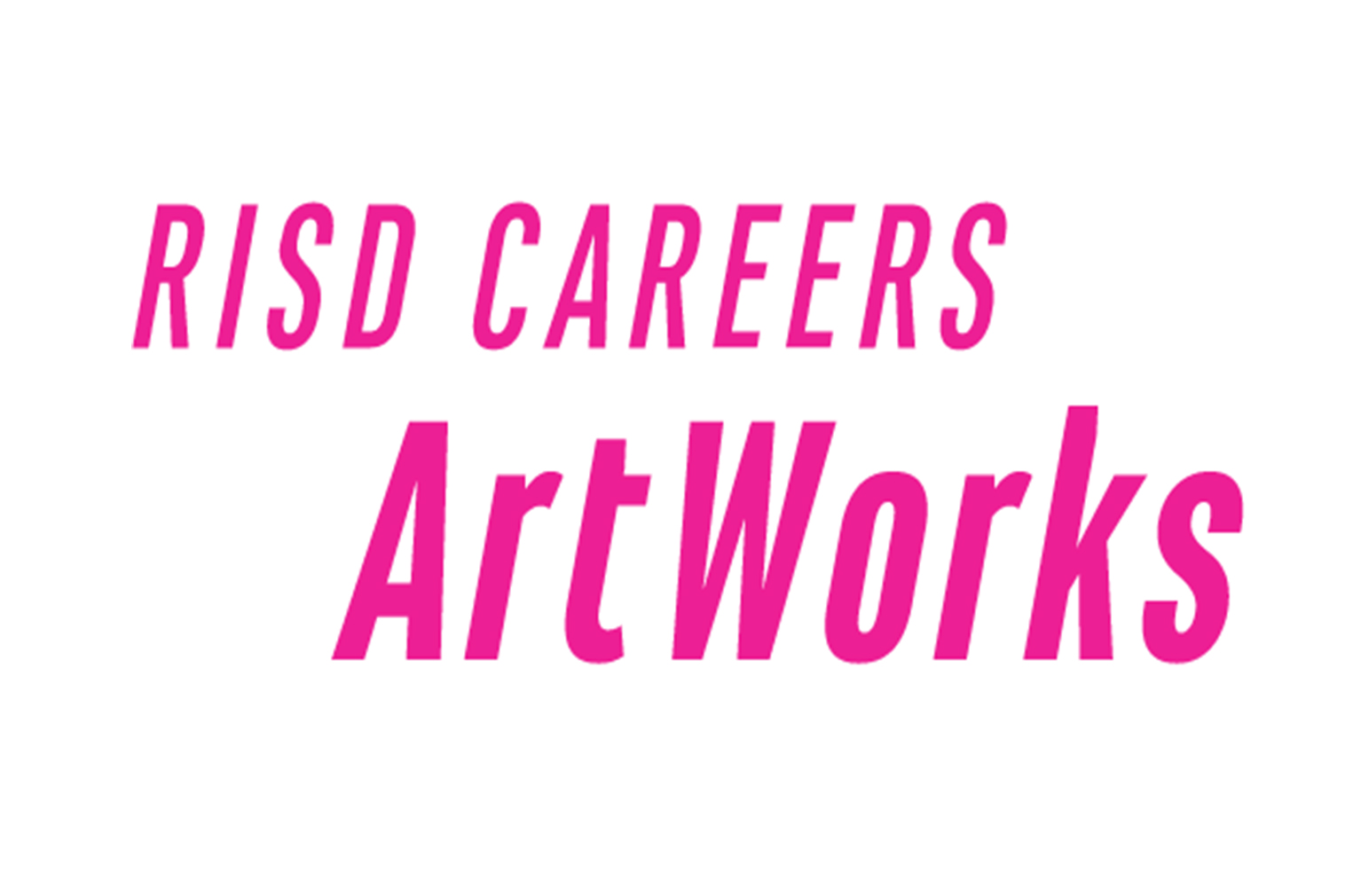 Logo with words RISD Careers ArtWorks