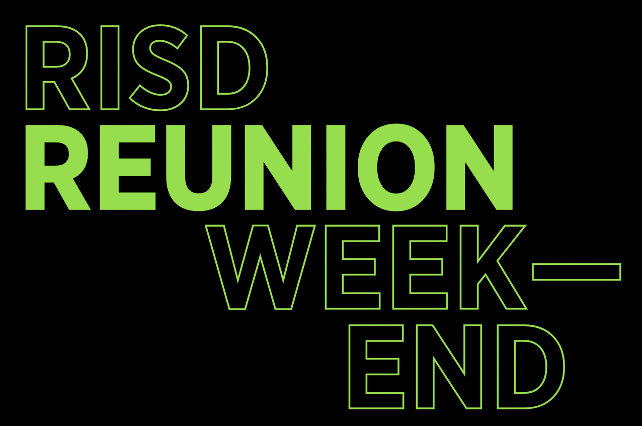 RISD Weekend graphic
