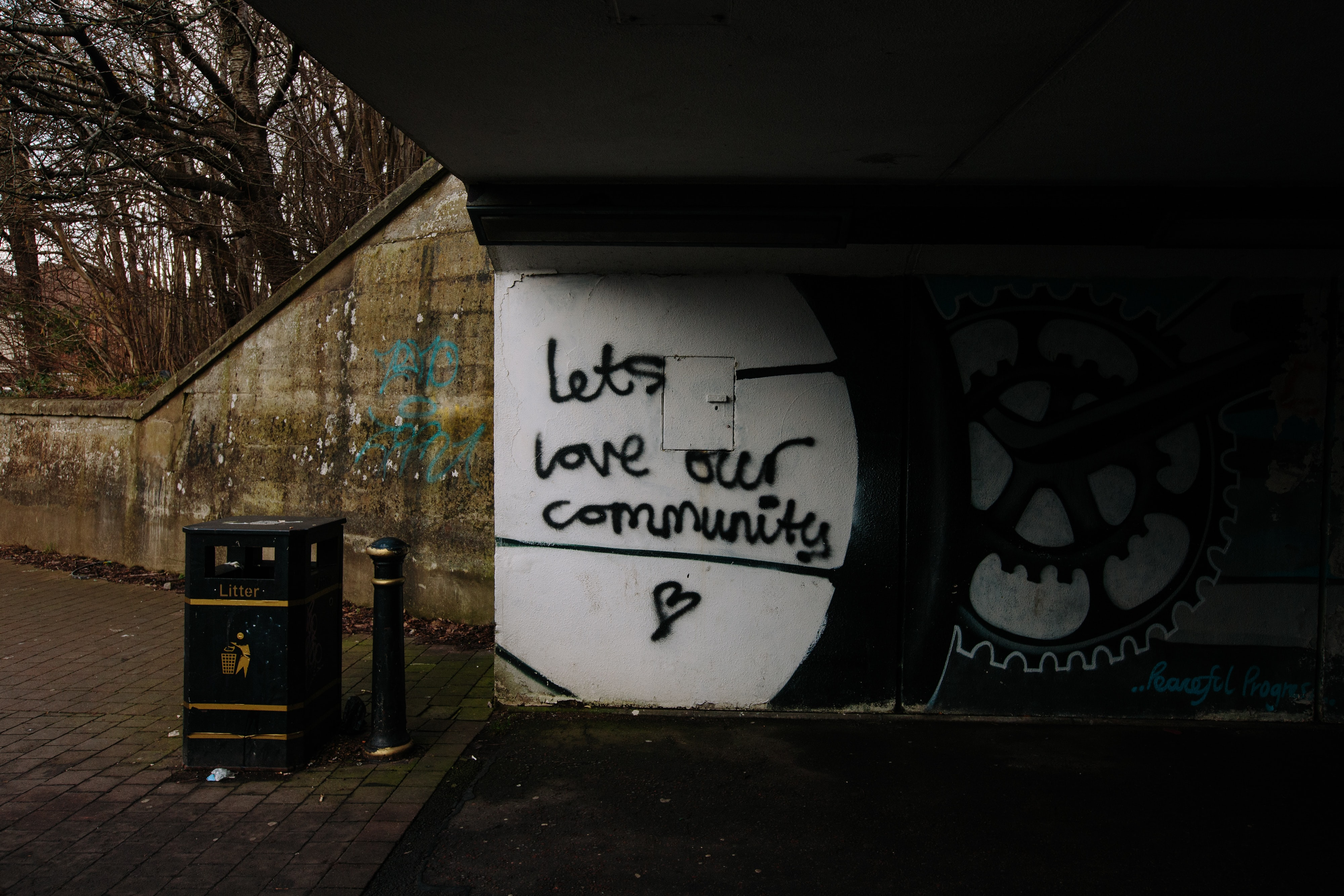 Let's love our community